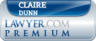 Claire Michelle Dunn  Lawyer Badge