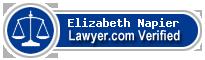 Elizabeth Ann Napier  Lawyer Badge