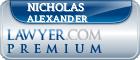 Nicholas Bryan Reffell Alexander  Lawyer Badge