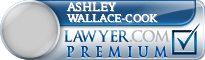 Ashley David Martin Wallace-Cook  Lawyer Badge