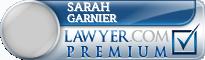 Sarah Margaret Garnier  Lawyer Badge