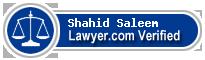 Shahid Saleem  Lawyer Badge