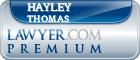 Hayley Ann Thomas  Lawyer Badge