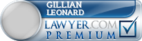 Gillian Margaret Leonard  Lawyer Badge