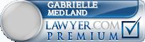 Gabrielle Louise Medland  Lawyer Badge