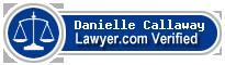 Danielle Lianne Callaway  Lawyer Badge