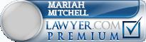 Mariah D. Mitchell  Lawyer Badge