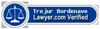 Trejur P. Bordenave  Lawyer Badge