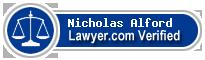 Nicholas Blake Alford  Lawyer Badge