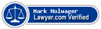 Mark Welsh Holwager  Lawyer Badge
