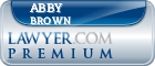 Abby Jo Mckee Brown  Lawyer Badge