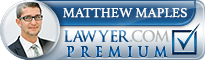 Matthew Culp Maples  Lawyer Badge