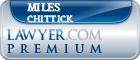 Miles Levi Chittick  Lawyer Badge