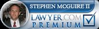 Stephen Nichlous McGuire  Lawyer Badge