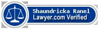 Shaundricka Monique Ranel  Lawyer Badge