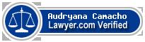 Audryana Marivi Camacho  Lawyer Badge
