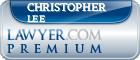 Christopher Carrington Lee  Lawyer Badge