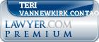 Teri Deborah Vannewkirk Contaoi  Lawyer Badge