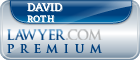 David J. Roth  Lawyer Badge
