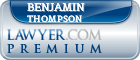 Benjamin Eugene Thompson  Lawyer Badge