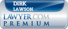 Dirk Peter Clifton Lawson  Lawyer Badge