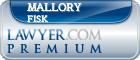 Mallory Lynn Fisk  Lawyer Badge