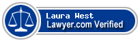 Laura Kay West  Lawyer Badge
