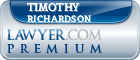 Timothy Davis Richardson  Lawyer Badge