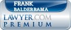 Frank V. Balderrama  Lawyer Badge