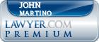 John F. Martino  Lawyer Badge