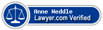 Anne Catherine Weddle  Lawyer Badge