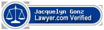 Jacquelyn Suza Gonz  Lawyer Badge