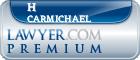 H T Carmichael  Lawyer Badge