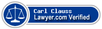 Carl David Clauss  Lawyer Badge