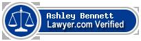 Ashley Ann Bennett  Lawyer Badge