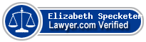 Elizabeth Diane Specketer  Lawyer Badge