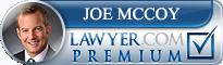 Joe McCoy  Lawyer Badge