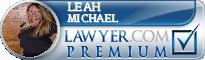 Leah Oney Michael  Lawyer Badge