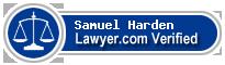 Samuel Roy Harden  Lawyer Badge
