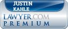 Justin James Kahle  Lawyer Badge