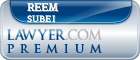 Reem Subei  Lawyer Badge