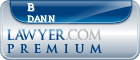 B Michael Dann  Lawyer Badge