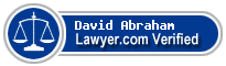 David J. Abraham  Lawyer Badge