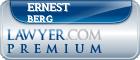 Ernest A. Berg  Lawyer Badge