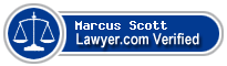 Marcus Lloyd Scott  Lawyer Badge
