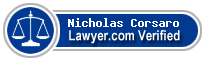Nicholas J. Corsaro  Lawyer Badge