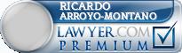 Ricardo Arroyo-Montano  Lawyer Badge