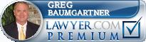 Greg Baumgartner  Lawyer Badge
