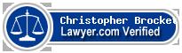 Christopher Dewitt Brockett  Lawyer Badge