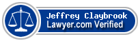 Jeffrey Lee Claybrook  Lawyer Badge
